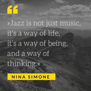 Zitat Nina Simone groß